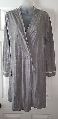 Oh baby by motherhood maternity gown robe size large