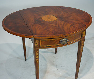High end Traditional Mahogany Pembroke Drop Leaf Centre or Side Table