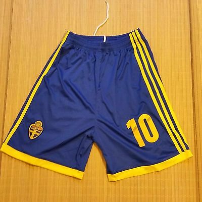 Sweden Football Shorts SVFF Adidas Blue