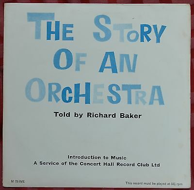 "The Story Of An Orchestra Told By Richard Baker 7"" 33rpm LP + Book – M 75/IME"