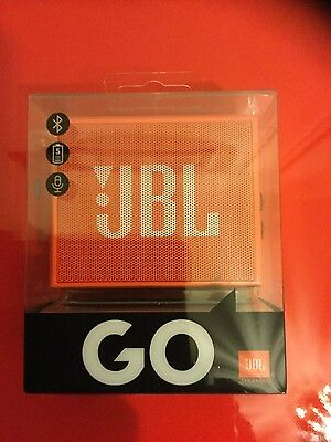 Enceinte Bluetooth Sans Fil Jbl Go - Sous Blister - Orange -