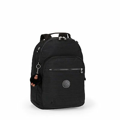BNWT Kipling CLAS Seoul Laptop Backpack DAZZ BLACK RRP £94