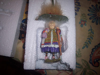 Dept 56 Krinkles Witch With Baby Dragons Ornament  Department 56