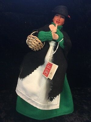 """Vintage 1950S 11-Inch """"molly Malone Doll"""" - Irish Traditional By """"jay At Dublin"""""""