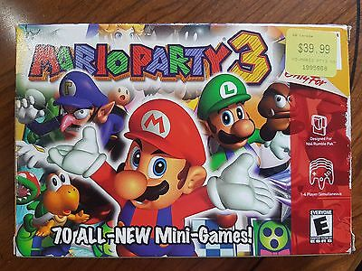Mario Party 3 Nintendo 64 Complete in Box