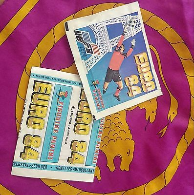 Panini - EURO 84  sealed packet - mint condition!!!