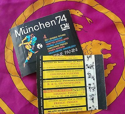 Panini - MUNCHEN 74  sealed packet - mint condition!!!