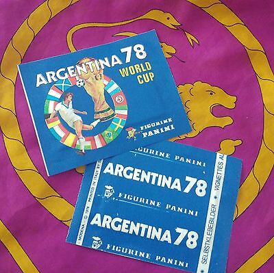 Panini - ARGENTINA 78 sealed packet - mint condition!!!