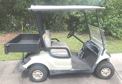 2007 Yamaha Gas Golf Cart with cargo bed and lights. Free Orlando delivery.