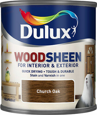 Dulux Woodsheen 250ml Church Oak