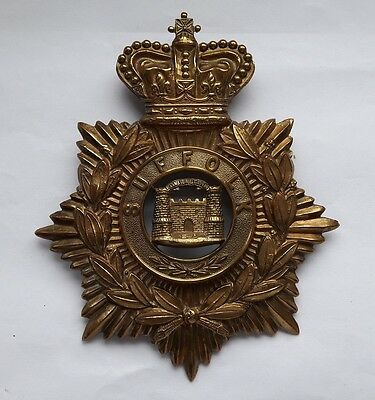 The Suffolk Regiment Helmet Plate 100% Original Sold with Full Guarantee