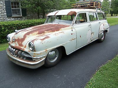 1951 DeSoto 4 door wagon Custom 1951 Desoto Custom Wagon