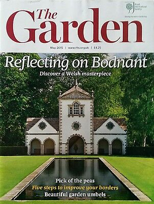 RHS The Garden Magazine May 2015 including Umbels,  Peas and Primroses