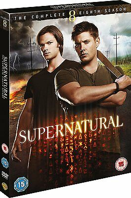 Supernatural The Complete Eighth Season 8 New & Sealed DVD Box Set