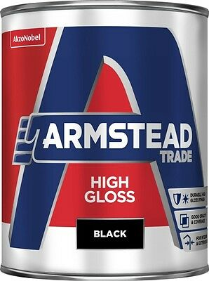 Armstead Trade High Gloss 1L Black