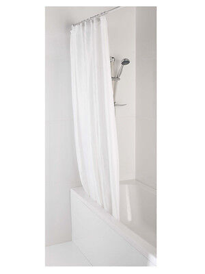 MX 100% Polyester Shower Curtain 1.8 x 1.8m