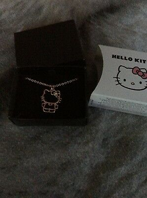 hello kitty necklace new