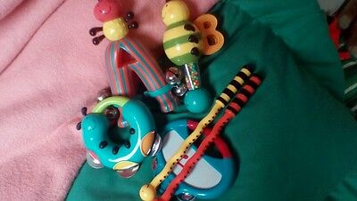 Musical instrument percussion bundle