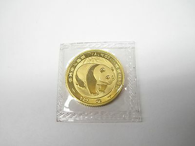 1983 Chinese Gold Panda 1/10 oz au .999 China 10 yuan coin Sealed