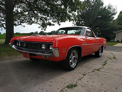 1970 Ford Ranchero 500 1970 FORD RANCHERO 500 * 6,800 1- OWNER MILES * CALYPSO CORRAL*351 CLEVELAND *