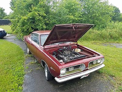 1967 Plymouth Barracuda  1967 Plymouth Barracuda fastback