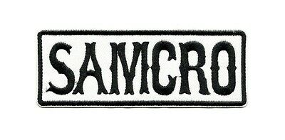 Ecusson SAMCRO Sons of Anarchy Motorcycle Club Patch Aufnäher Parche Toppa badge