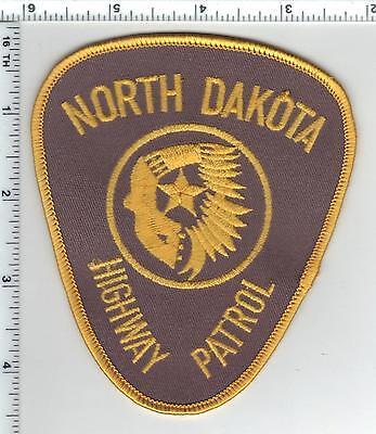 Highway Patrol (North Dakota)  Shoulder Patch - from the 1980's