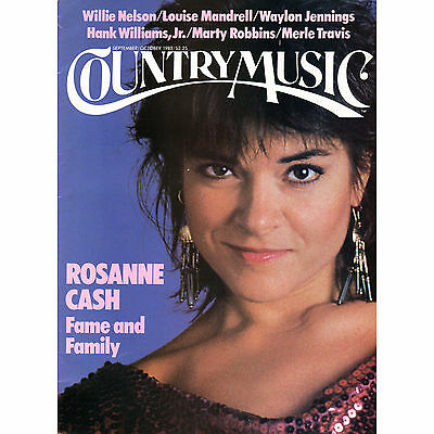 Country Music Magazine ROSANNE CASH Sept/Oct 1983 LOUISE MANDRELL etc