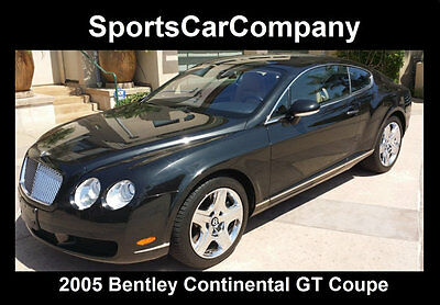 2005 Bentley Continental GT GT Coupe 2-Door 2005 BENTLEY CONTINENTAL GT COUPE BLACK ULTIMATE LUXURY EXCELLENT VALUE CALL NOW
