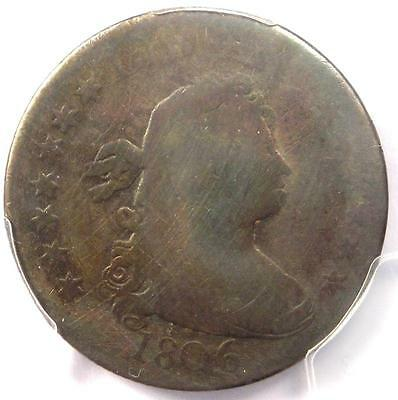 1806 Draped Bust Quarter 25C - PCGS AG Details - Rare Early Certified Coin!
