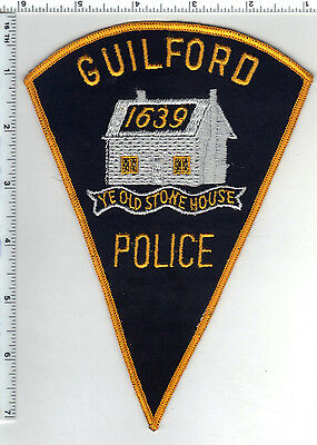 Guilford Police (Connecticut) Shoulder Patch - new from the early 1980's