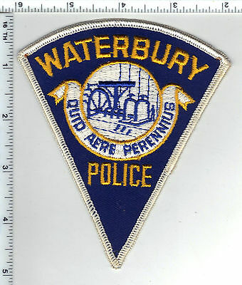 Waterbury Police (Connecticut) Shoulder Patch - new from the early 1980's