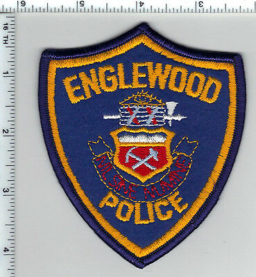 Englewood Police (Colorado) Shoulder Patch - new from the 1980's