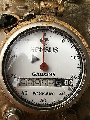 "2"" SENSUS  brass water meter & FLANGES"