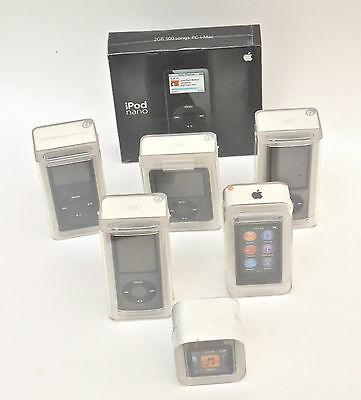 Apple iPod nano set collection 1 - 7 Generations Brand New