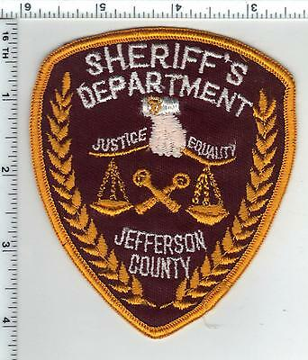 Jefferson County Sheriff's Dept. (Kentucky) Shoulder Patch - from early 1980's