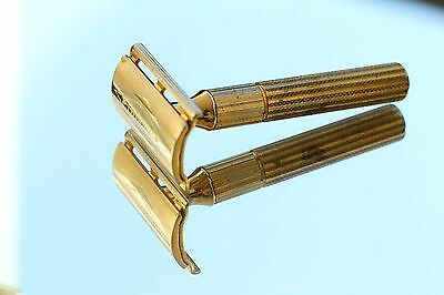 Gillette Made in Canada 1932 3 Piece Safety Razor Y 4