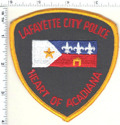 Lafayette City Police (Louisiana)  Shoulder Patch - new from the early 1980's