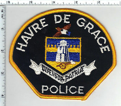 Harve De Grace Police (Maryland) Shoulder Patch - new from the early 1980's