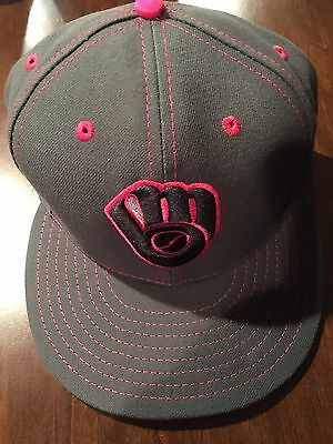 2016 Brewers Junior Guerra Game Used Worn Cap Hat