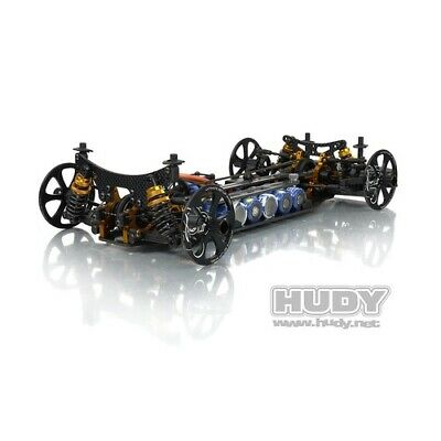 NEW Alu Set-Up Wheel For 1/10 Rubber (Hd109370) from RC Hobby Land