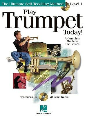 Play Trumpet Today! - Level 1 - Trumpet Music Book with CD
