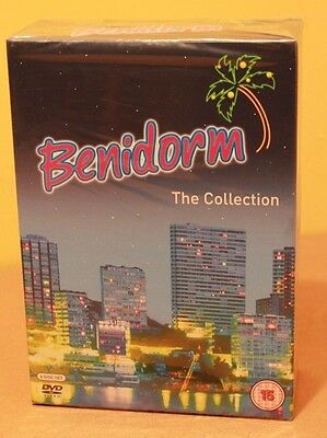 Benidorm The Collection DVD Boxset Complete Brand New & Sealed Season 1-3 & XMAS