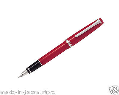 Pilot Namiki Falcon Elabo 14K Fountain Pen Resin Barrel Red