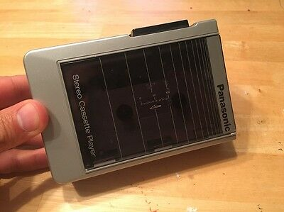 Vintage PANASONIC Stereo Cassette Player Walkman RQ-J50 Matsushita Japan WORKS
