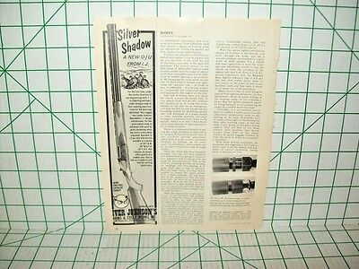 Iver Johnson's Silver Shadow Printed Ad From Gun World Hunting Guide '74