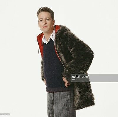 Rare 3rd Rock From the Sun French Stewart Harry Solomon Vintage 70s Fur Coat