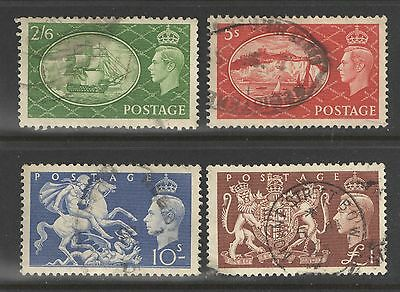 Great Britain 1951 Coat of Arms VF Used   CV $32