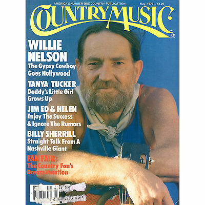 Country Music Magazine WILLIE NELSON May 1979 TANYA TUCKER etc