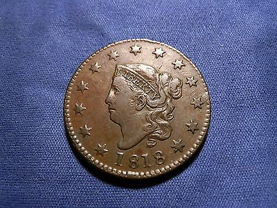 1818 Matron Head Large Cent